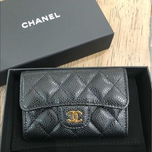 Brand new Chanel card holder/coin purse